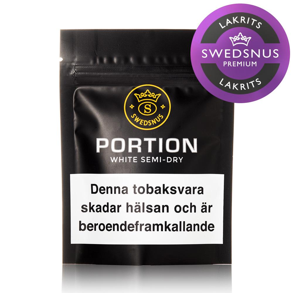 Premium Lakrits Prov Portionssnus