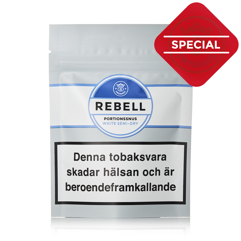 Rebell Special Prov Portionssnus